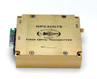 2.25 GHz RF Analog Fiber Optic Transmitter