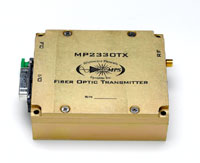 L-Band RF Analog Fiber Optic Transmitter