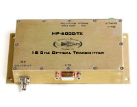 18 GHz RF/Fiber Optic Transmitter