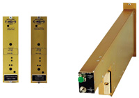 X-Band; 7 to 9 GHz Fiber Optic Plug-In Module