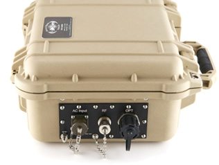 OFW-7500-IFL MIL TACTICAL SATCOM - L-Band Fiber Optic IFL Subsystem