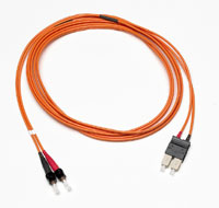 Multimode, Duplex Optical Jumper Cable